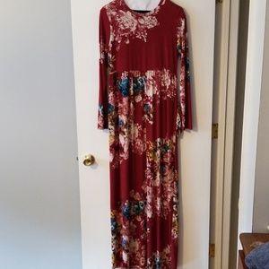 Perfect Fall Dress w/ pockets!